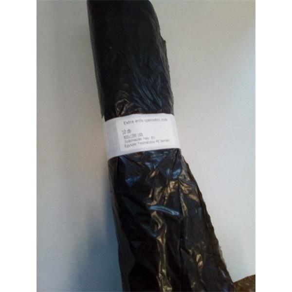 160l 80x120cm vastag 10 db/csomag FMC háztartási szemeteszsák - 2