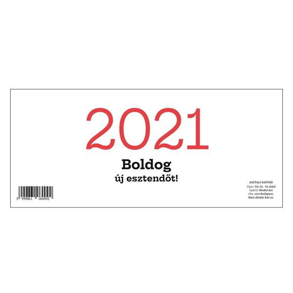 24TA 2021-es asztali naptár - 1