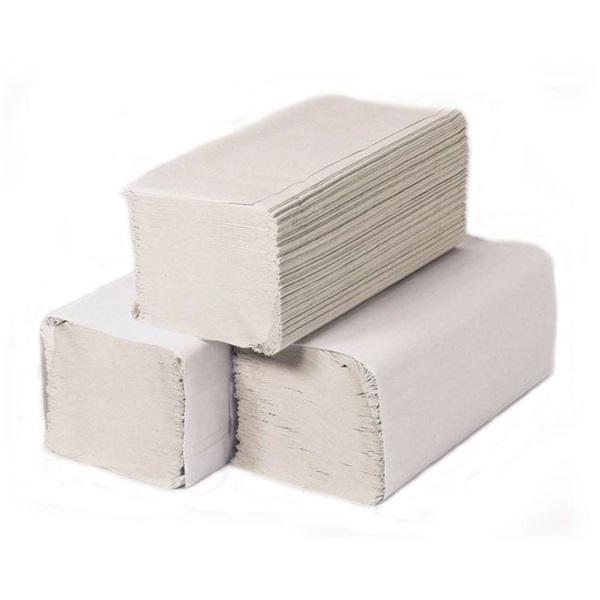 250 lapos 20 csomag/doboz 1 rétegű natúr kéztörlő - 1