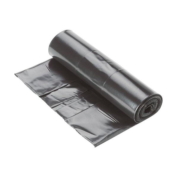 25l fekete 10my 45x50cm 20db/csomag háztartási szemeteszsák - 1