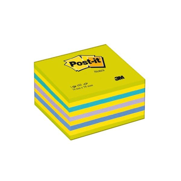 3M Post-it lemon 76x76mm öntapadó kockatömb - 1