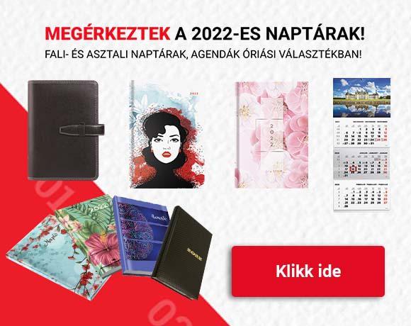 Slider melletti csempe - 2022-es naptárak