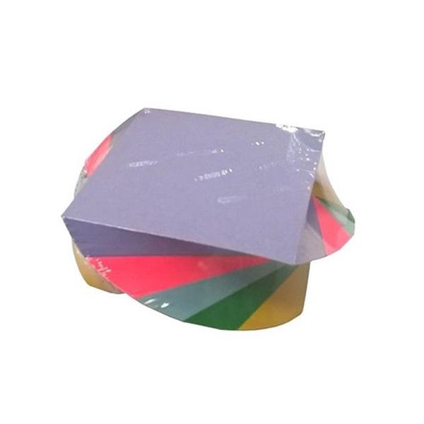 9x9x600 csavart színes papírtömb - 1