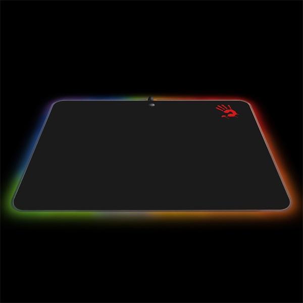 A4-Tech Bloody MP-50RS RGB LED világító gamer egérpad - 1