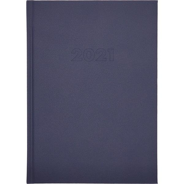 A5 2021-es napi beosztású kék határidőnapló - 1