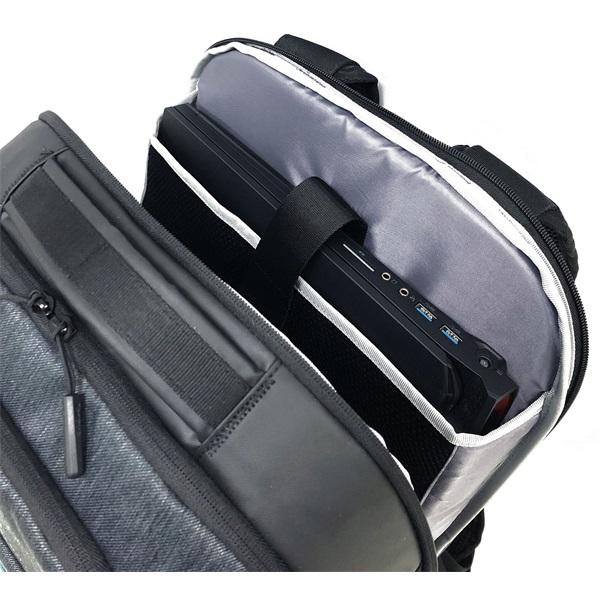 Acer Predator Hybrid 15.6 kéttónusú fekete-kék hátizsák - 10