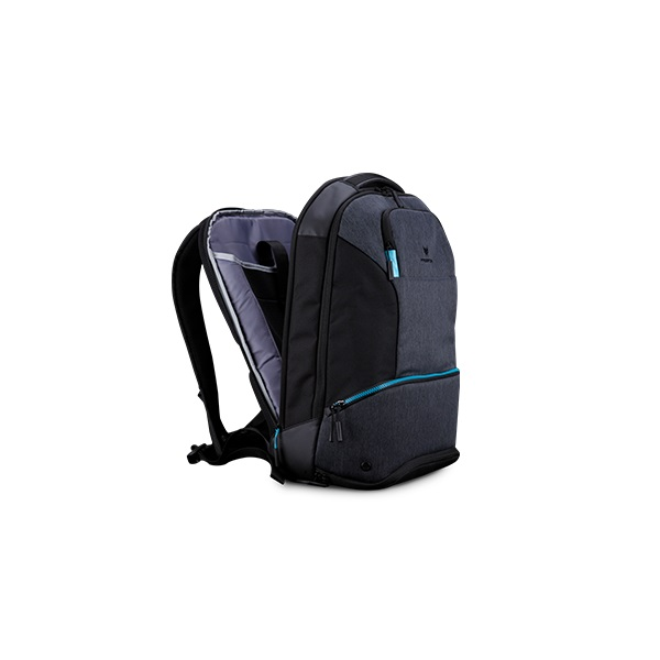 Acer Predator Hybrid 15.6 kéttónusú fekete-kék hátizsák - 4