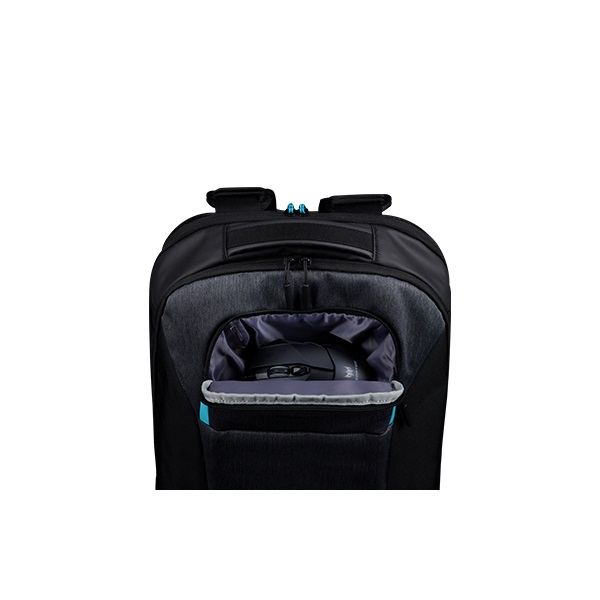 Acer Predator Hybrid 15.6 kéttónusú fekete-kék hátizsák - 5