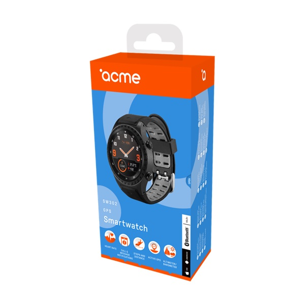 ACME SW302 GPS-es pulzusmérős okosóra - 7