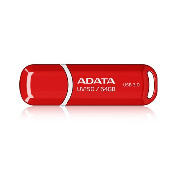 ADATA 64GB USB3.0 Piros (AUV150-64G-RRD) Flash Drive - 1