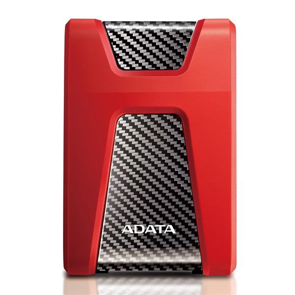 ADATA AHD650 2,5 2TB USB3.1 ütésálló piros külső winchester - 1