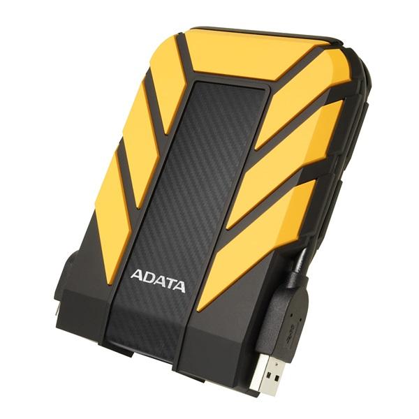 ADATA AHD710P 2,5 1TB USB3.1 ütés és vízálló sárga külső winchester - 1