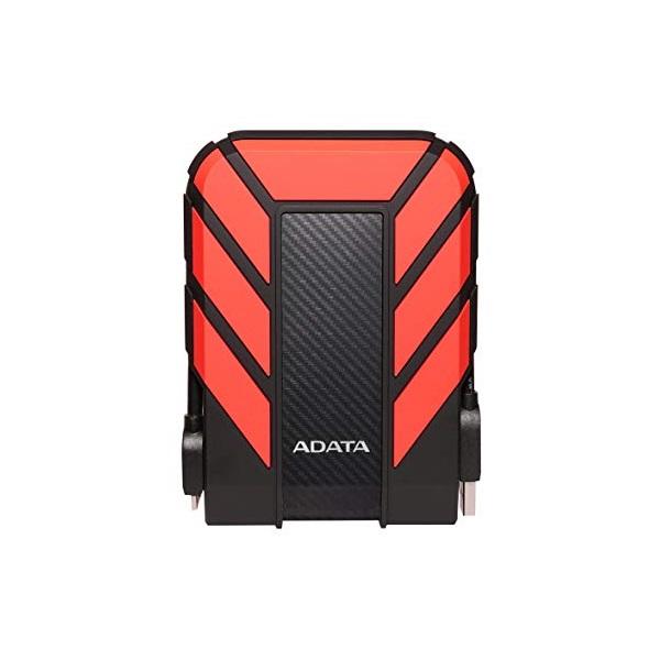 ADATA AHD710P 2,5 2TB USB3.1 ütés és vízálló piros külső winchester - 1