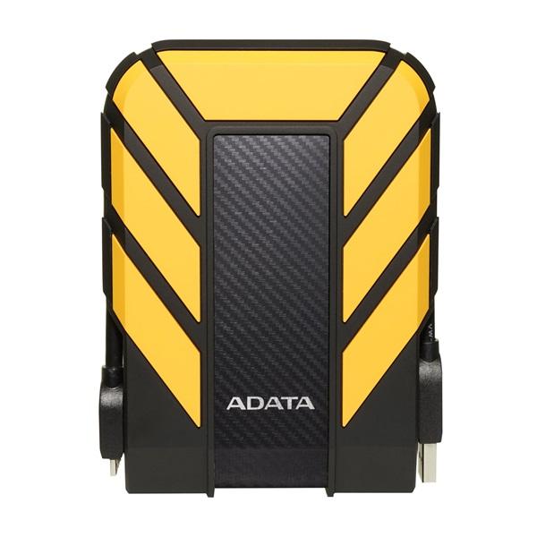 ADATA AHD710P 2,5 2TB USB3.1 ütés és vízálló sárga külső winchester - 1