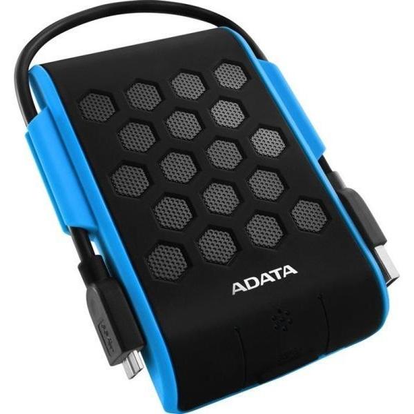 ADATA AHD720 2,5 1TB USB3.0 ütés és vízálló kék külső winchester - 1