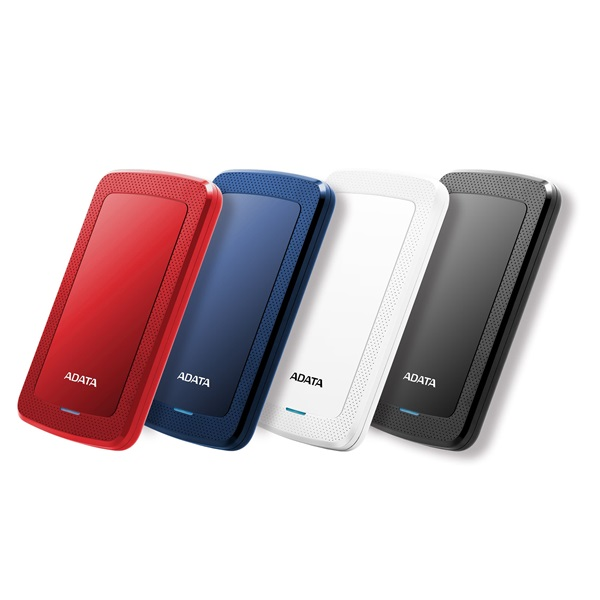 ADATA AHV300 2,5 1TB USB3.1 fehér külső winchester - 1