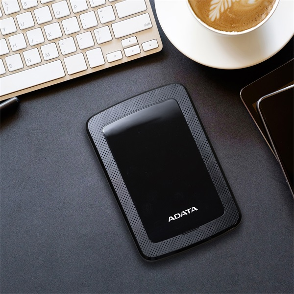 ADATA AHV300 2,5 1TB USB3.1 fekete külső winchester - 6
