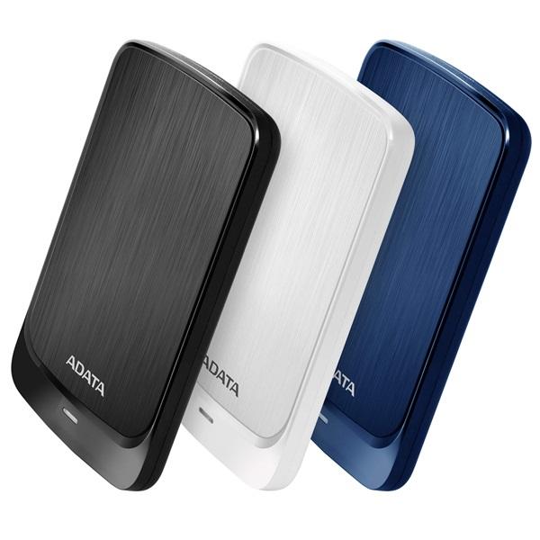 ADATA AHV320 2,5 1TB USB3.1 fehér külső winchester - 1