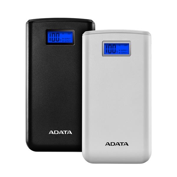 ADATA S20000D 20000mAh fehér power bank - 1