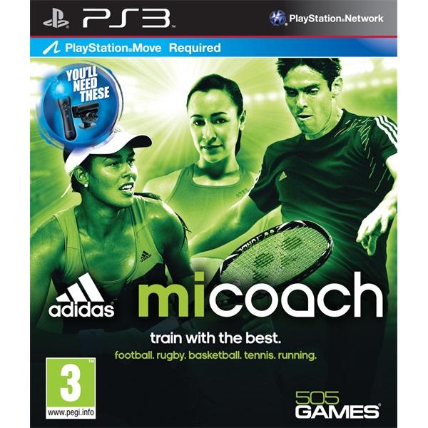 Adidas Micoach (Move) PS3 játékszoftver - 1