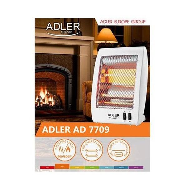 Adler AD 7709 halogén hősugárzó - 2