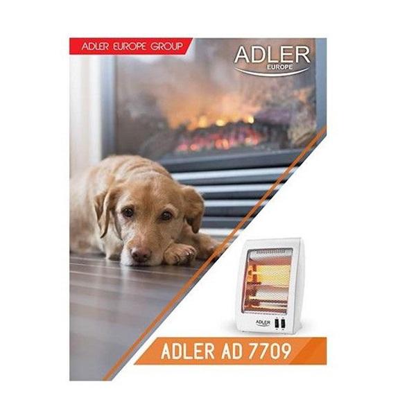 Adler AD 7709 halogén hősugárzó - 3