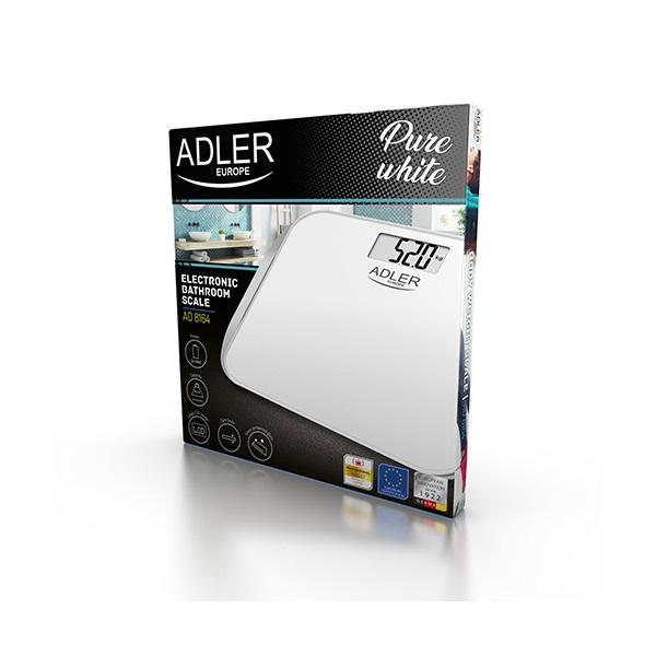 Adler AD 8164 üveglapos személymérleg - 3