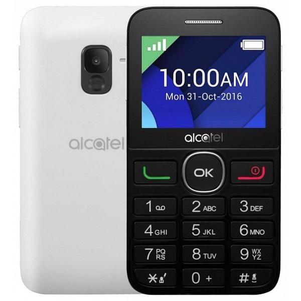 Alcatel 2008G 2,4 fekete-fehér mobiltelefon - 1
