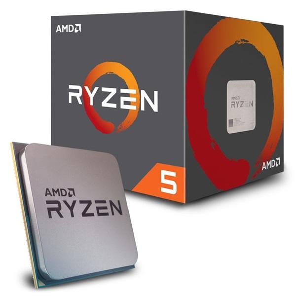 AMD Ryzen 5 2600 3,40GHz Socket AM4 16MB (2600) box processzor - 1