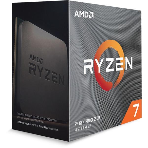 AMD Ryzen 7 3800XT 3,90GHz Socket AM4 32MB (3800XT) box processzor - 1