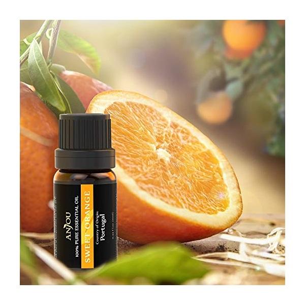 Anjou AJ-ES001 6-féle illat, illóolaj csomag - 8
