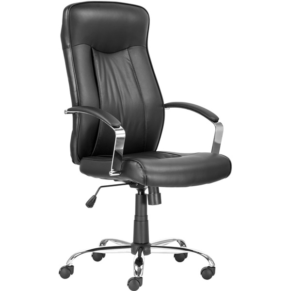 Antares Montgomery textilbőr fekete főnöki fotel - 1