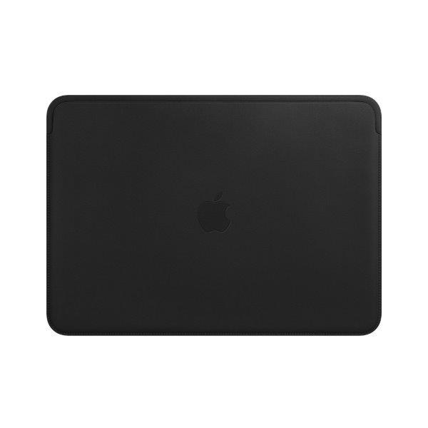 Apple MacBook Pro 13,3 fekete bőrtok - 1