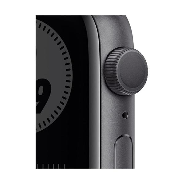 Apple Watch Nike Series 6 GPS-es 44mm asztroszürke alumíniumtok antracit/fekete Nike sportszíjas okosóra - 2