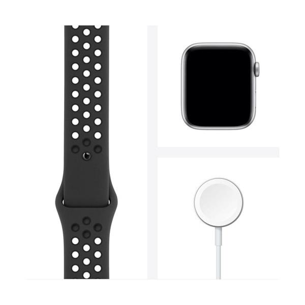 Apple Watch Nike Series 6 GPS-es 44mm asztroszürke alumíniumtok antracit/fekete Nike sportszíjas okosóra - 4
