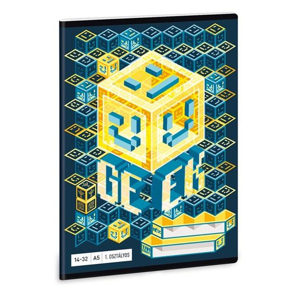 Ars Una Geek A5 16-32 2.osztályos füzet - 1