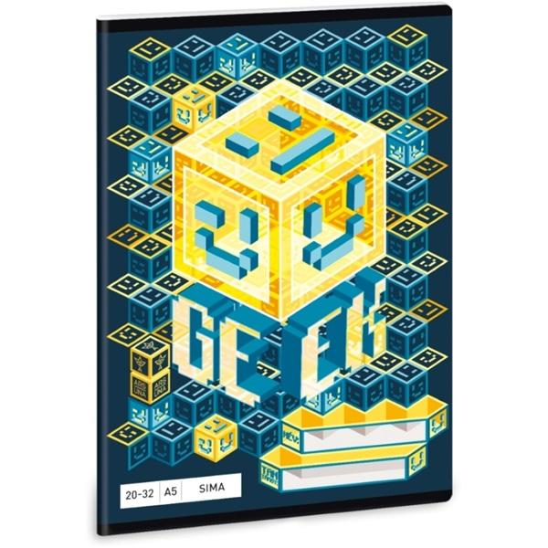 Ars Una Geek A5 20-32 sima füzet - 1