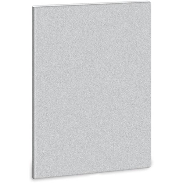 Ars Una Glitter-Ezüst A4 extra kapcsos vonalas füzet - 1