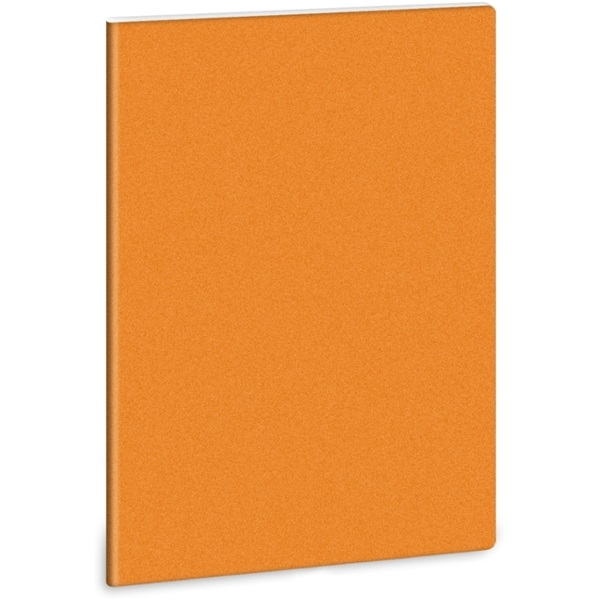 Ars Una Glitter-Narancs A4 extra kapcsos sima füzet - 1