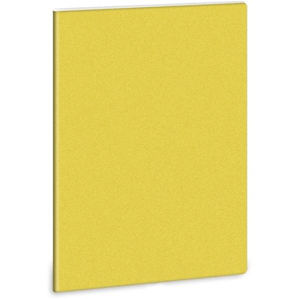 Ars Una Glitter-Sárga A4 extra kapcsos vonalas füzet - 1
