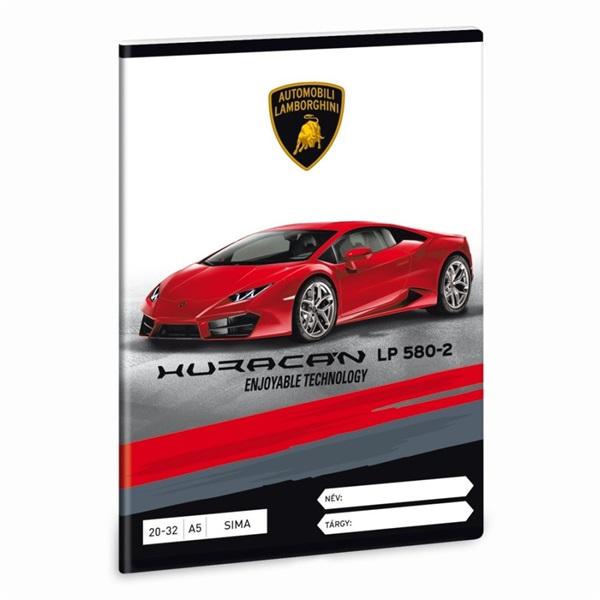 Ars Una Lamborghini A5 20-32 sima füzet - 2