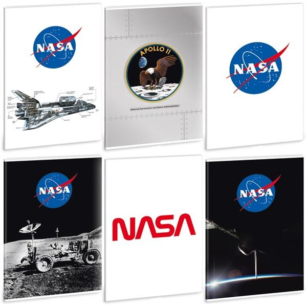 Ars Una NASA-1 A4 extra kapcsos vonalas füzet - 1