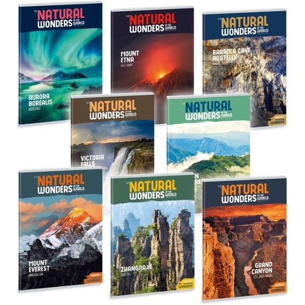 Ars Una Natural Wonders A4 extra kapcsos sima füzet - 1