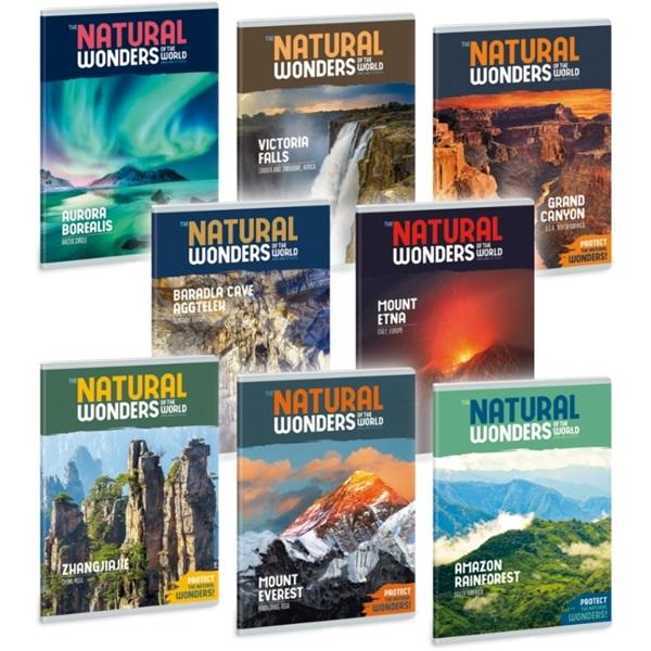 Ars Una Natural Wonders A5 extra kapcsos sima füzet - 1