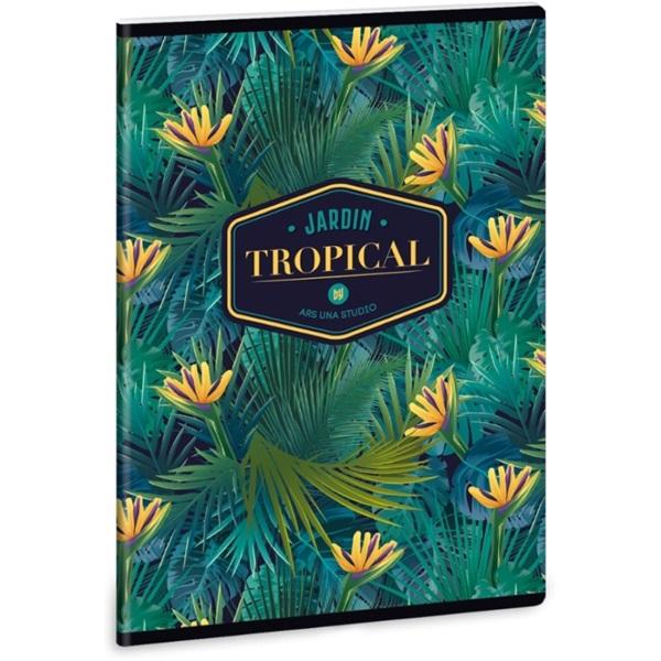 Ars Una Tropical Florida A5 extra kapcsos sima füzet - 1