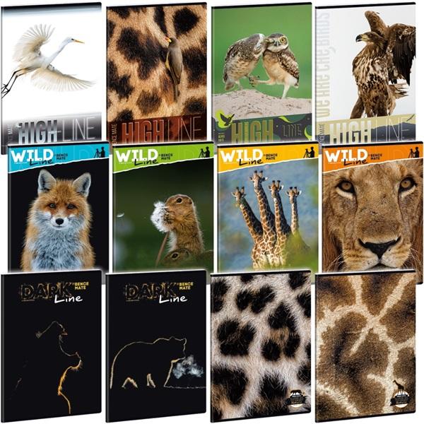 Ars Una Wild Life Moments A4 extra kapcsos sima füzet - 1