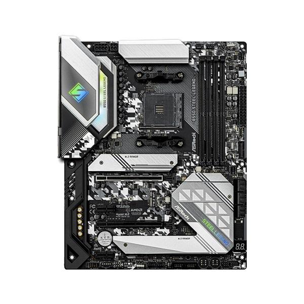 ASRock B550 STEEL LEGEND AMD B550 SocketAM4 ATX alaplap - 2