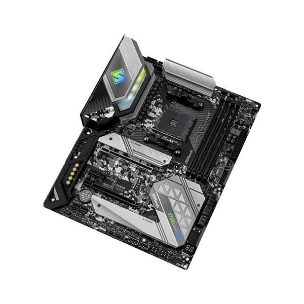 ASRock B550 STEEL LEGEND AMD B550 SocketAM4 ATX alaplap - 3