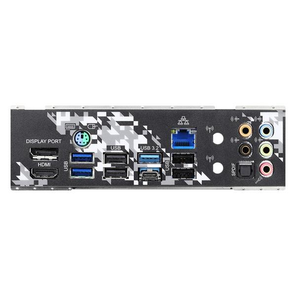 ASRock B550 STEEL LEGEND AMD B550 SocketAM4 ATX alaplap - 5