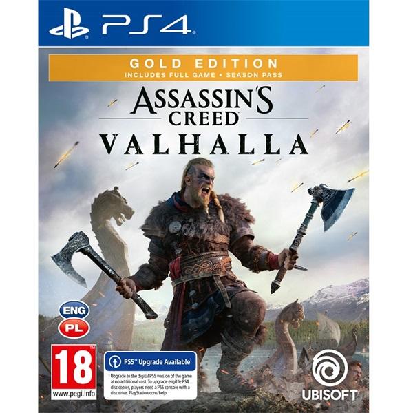 Assassin`s Creed Valhalla Gold Edition PS4 játékszoftver - 1